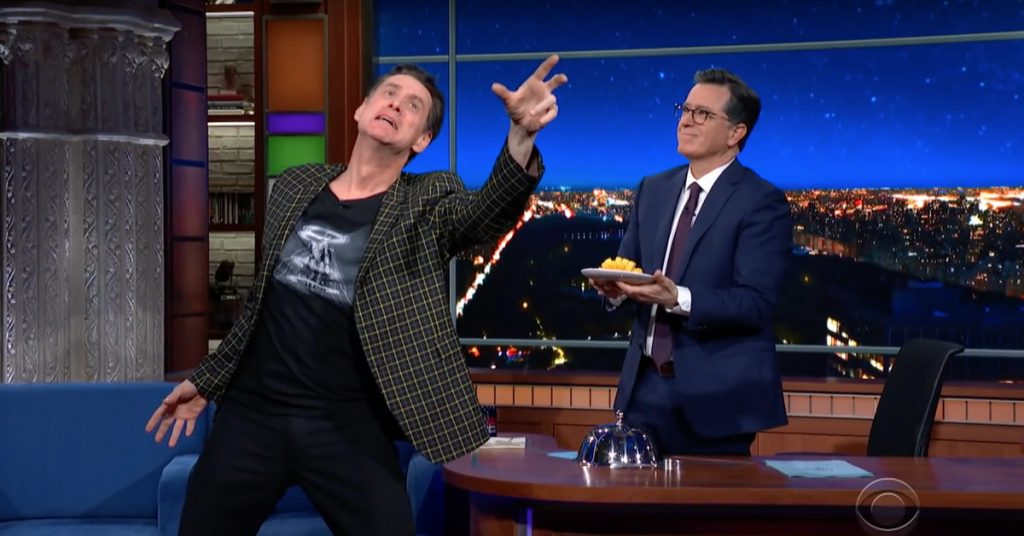 Jim Carrey Puts A Dramatic Spin On His Old Iconic Comedy Lines