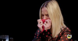 Margot Robbie Survived 'Hot Ones' And I'm Genuinely Proud