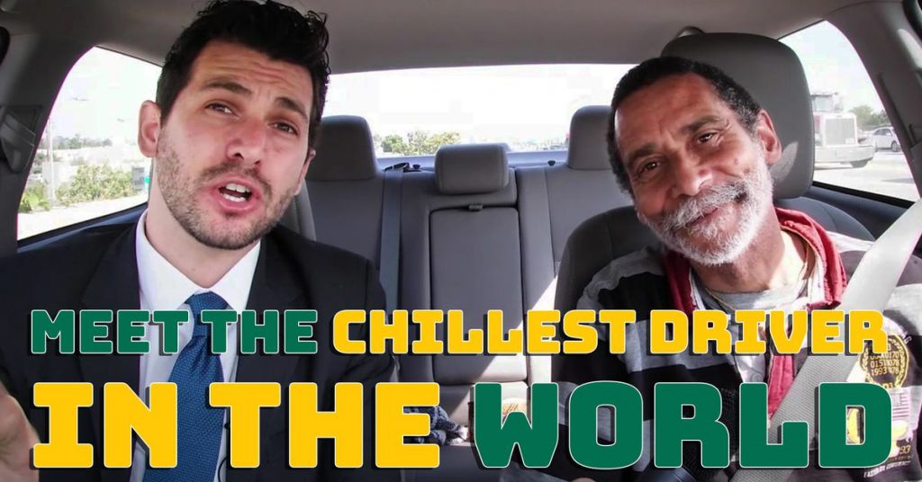 Meet The Chillest Driver In The World